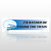 The Train 20 Bumper Sticker
