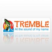 Tremble Fish 84 Bumper Sticker
