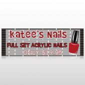 Acrylic Nails 292 Custom Decal