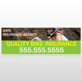 Bike Insurance 110 Custom Decal