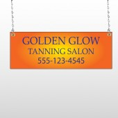 Golden Glow 491 Window Sign