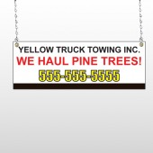 Towing 300 Window Sign