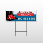 American Truck 295 Wire Frame Sign