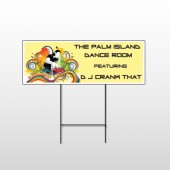 DJ Crank Night 369 Wire Frame Sign