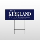 Senate 309 Wire Frame Sign