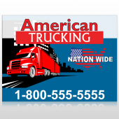 American Truck 295 Site Sign