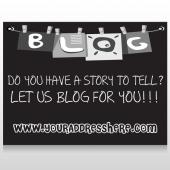 Blog Line 430 Custom Sign