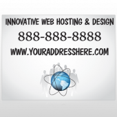 Business Global 438 Site SIgn