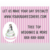 Cake Topper 412 Custom Sign