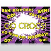 Crocs 54 Custom Sign