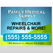 Family Medical 138 Site Sign