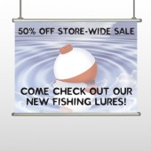 Fishing Bobber 410 Hanging Banner