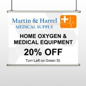 Home Oxygen 139 Hanging Banner