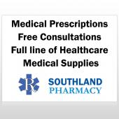 Pharmacy 335 Custom Sign