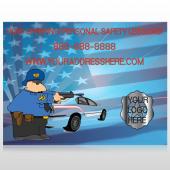 Police Thanks 429 Custom Decal