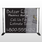 Black and Book 217 Pocket Banner Stand
