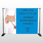 Measure Loss 421 Pocket Banner Stand
