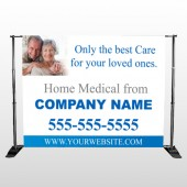 Old 329 Pocket Banner Stand