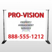 Property Management 247 Pocket Banner Stand
