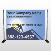 Roofing 258 Pocket Banner Stand