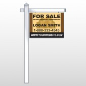 "Brown Buildings 858 18""H x 24""W Swing Arm Sign"