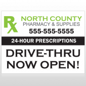 RX  North County 105 Site Sign