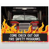 Safety Program 427 Custom Sign