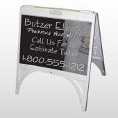 Black And Book 217 A Frame Sign