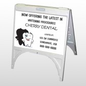 Winking Tooth 501 A Frame Sign