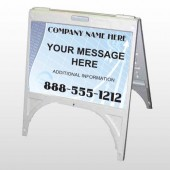 Finance Graph 175 A Frame Sign
