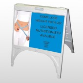 Measure Loss 421 A Frame Sign