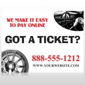Steering Wheel 154 Custom Sign