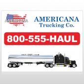 Tanker Truck 315 Custom Decal