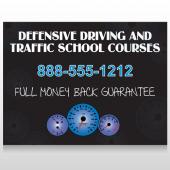 Traffic School 152 Custom Decal