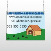 Hunting 301 Window Sign
