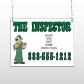 Inspector 245 Window Sign