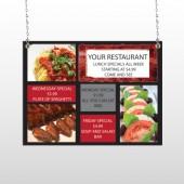 Restaurant Specials 370 Window Sign