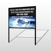 World Wide Web 437 H Frame Sign