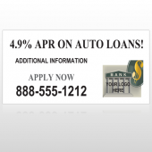 Auto Loan 173 Custom Decal
