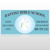 Bible Dove 162 Custom Decal