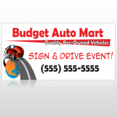 Budget Auto Mart 116 Custom Decal