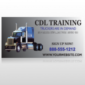 CDL Training 155 Custom Decal