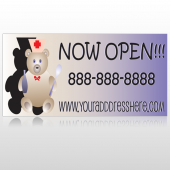 Nurse Bear 504 Custom Sign