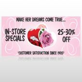 Pink Rose Hide Ring 400 Custom Decal