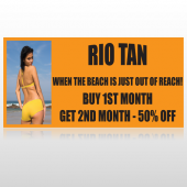 Rio Tan Beach 489 Custom Sign