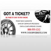 Steering Wheel 154 Custom Decal