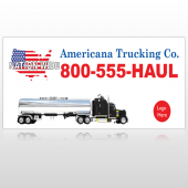 Tanker Truck 315 Custom Decal