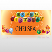 Birthday Balloons 185 Custom Decal