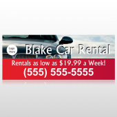 Car Rental 112 Custom Banner