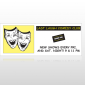 Comedy Mask 516 Banner
